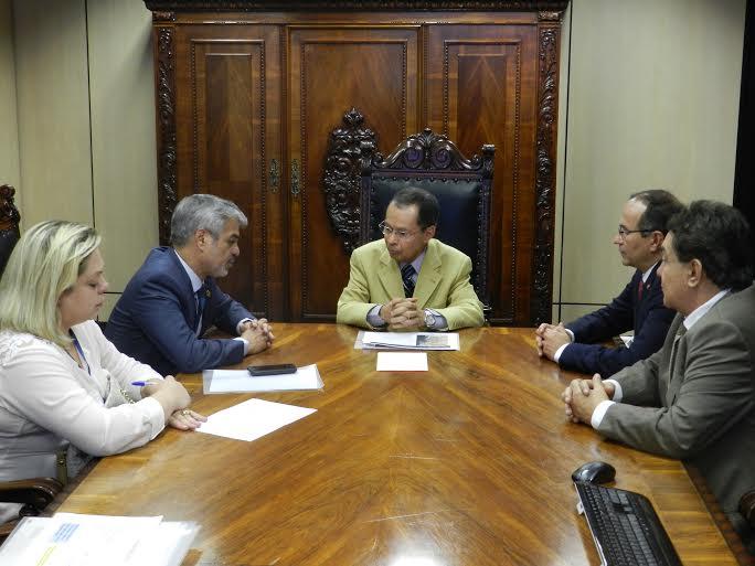 Humberto e ministro dos transpotes Arco Metropolitano