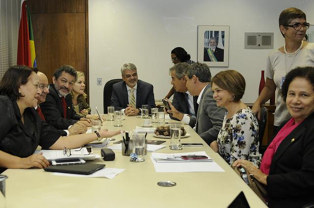 Bancada do PT almoça com ex-presidente em São Paulo nesta quinta. Foto: Alessandro Dantas/ Liderança do PT no Senado