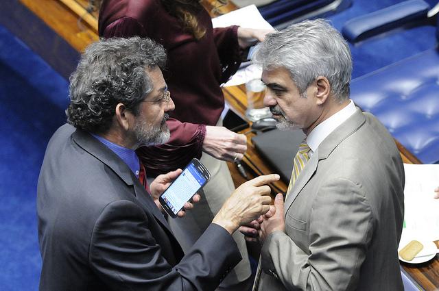 Humberto: Banco do Brasil e Caixa Econômica serão fortalecidos. Foto: Alessandro Dantas/ Liderança do PT