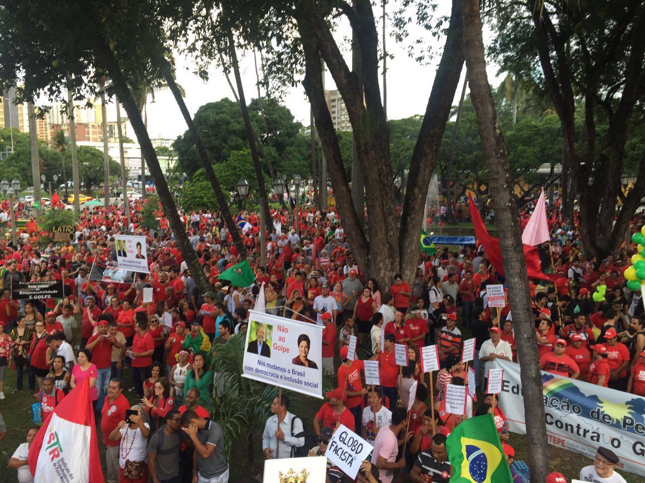 Humberto: É uma ação da população que sabe como é grave atacar o estado democrático de direito. Foto: Assessoria de Imprensa