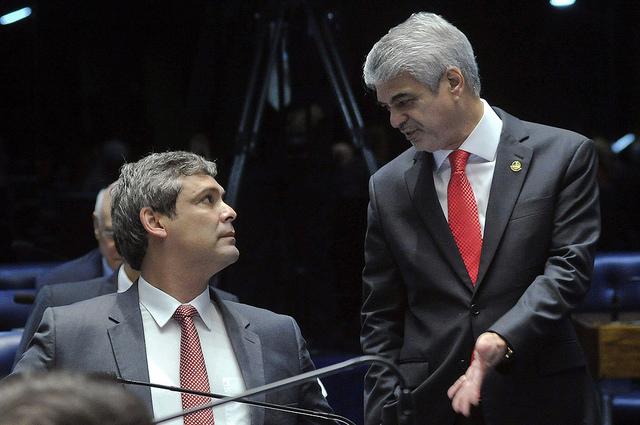 Humberto garante que PT fará oposição dura e responsável a Temer. Foto: Geraldo Magela/ Agência Senado
