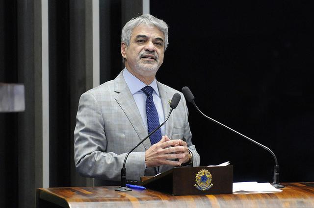 Líder de Dilma no Senado aponta retrocessos na área do combate à corrupção. Foto: Alessandro Dantas/ Liderança do PT no Senado