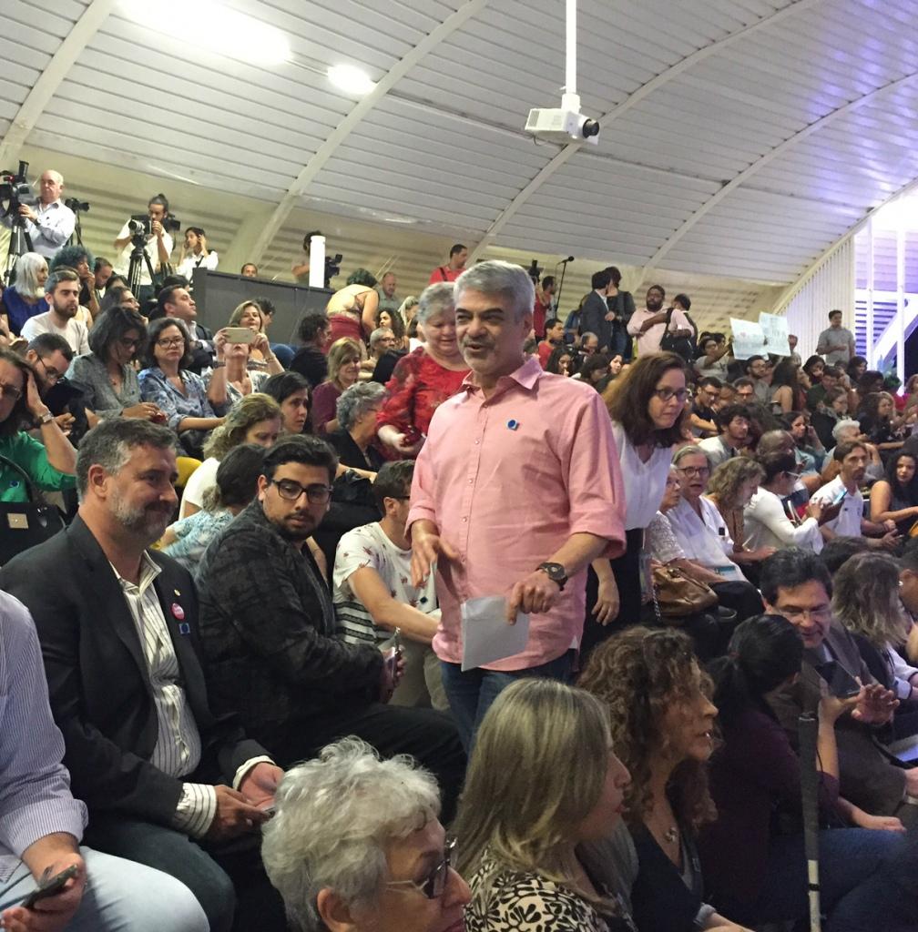 Líder de Dilma no Senado, Humberto está empenhado em realizar outros atos em favor da presidenta em todo o país. Foto: Assessoria de Imprensa