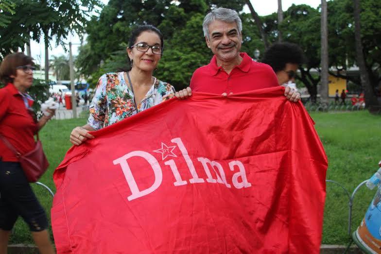 Humberto: Nesta sexta, iremos reafirmar nosso apoio à presidenta Dilma. Foto: Assessoria de Imprensa