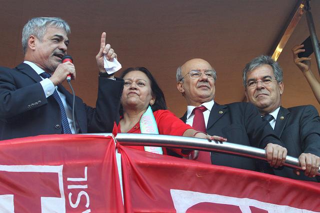 Líder de Dilma estará nas ruas com a militância para denunciar ilegitimidade do governo interino de Temer. Foto: Alessandro Dantas/ Liderança do PT no Senado