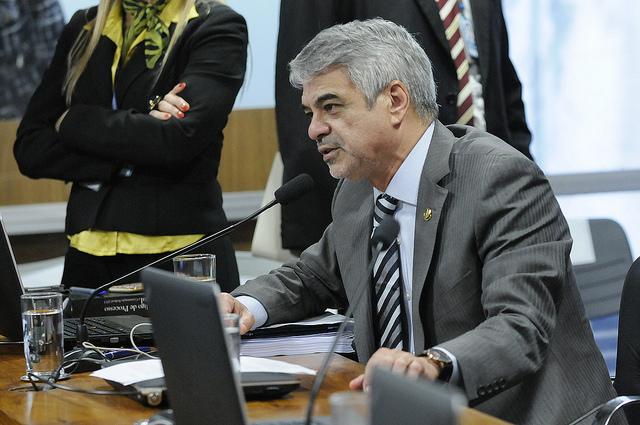 Senador fez procurador junto ao TCU admitir que não conhece o que chama de pedalada fiscal. Foto: Alessandro Dantas/ Liderança do PT no Senado