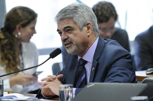Humberto diz que Temer e aliados têm receio de delação de Cunha. Foto: Alessandro Dantas/ Liderança do PT
