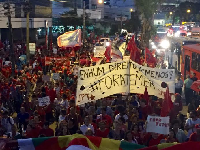 Humberto: Estas manifestações, que ocorreram em todo o Brasil, marcaram a retomada dos grandes atos de ruas. Foto: Assessoria de Imprensa