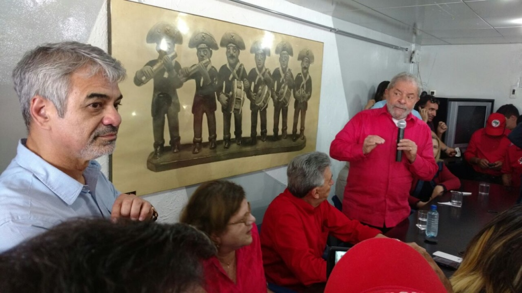 Humberto: Realmente vemos como o presidente Lula é querido. Onde quer que vá, seja em Petrolina, Carpina, Caruaru ou Recife, ele leva um grande público que vem escutar o que ele tem a dizer. Foto: Assessoria de Imprensa