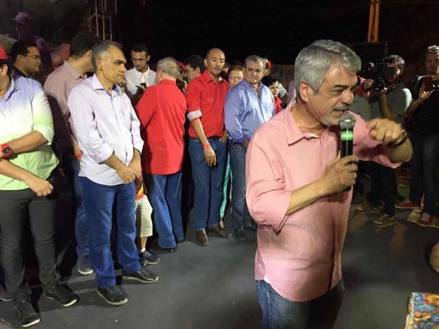 Para Humberto, com Lula e Dilma foi possível ver ressurgir o semiárido com ações como a Transposição do Rio São Francisco. Foto: Assessoria de Imprensa