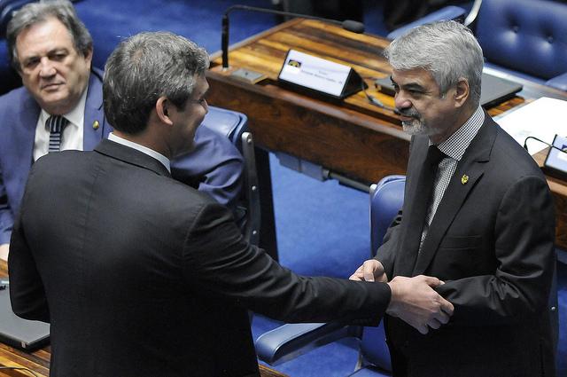 Líder do PT comandou oposição em noite de fracasso do governo Temer no Congresso. Foto: Alessandro Dantas/ Liderança do PT
