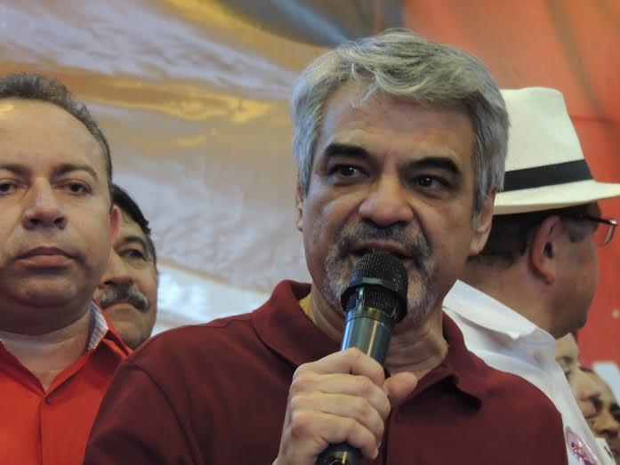 Para Humberto, a ida ao interior é ainda mais importante depois da denúncia feita contra o ex-presidente Lula. Foto: Assessoria de Imprensa HC