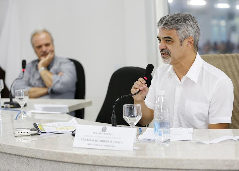 Segundo Humberto, a proposta trabalhista defendida pelo governo Temer é ruim para os trabalhadores e só atende aos interesses patronais. Foto: Tarsio Alves