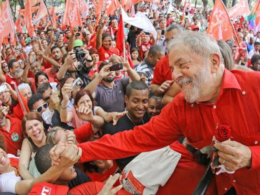 Humberto: Mesmo faltando um ano e meio para as eleições de 2018, a pesquisa comprova que o ex-presidente é o favorito para vencer o pleito. Foto: Ricardo Stuckert