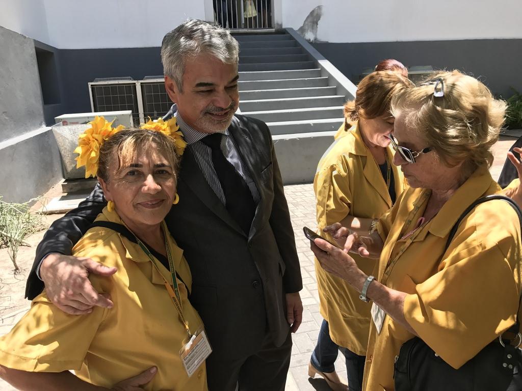 Humberto: O corte de verbas para políticas de proteção à mulher é a face mais cruel do governo misógino de Temer. Foto: Asscom HC