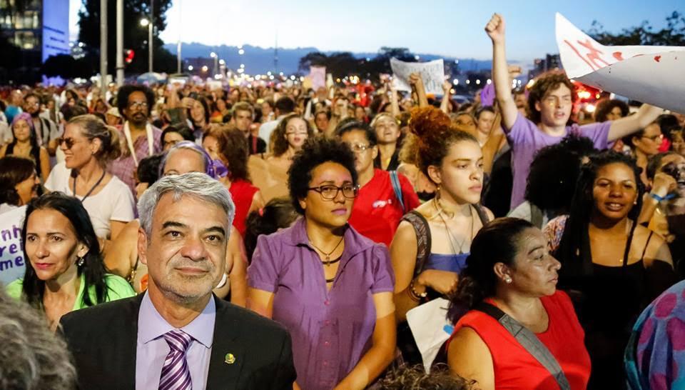 Humberto: Temos de fazer todo tipo de pressão para garantir os direitos fundamentas do povo trabalhador brasileiro. Foto: Asscom HC